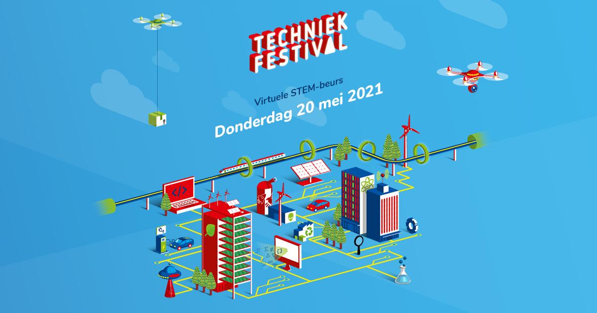 Techniekfestival - Ontmoet virtueel technisch en creatief talent